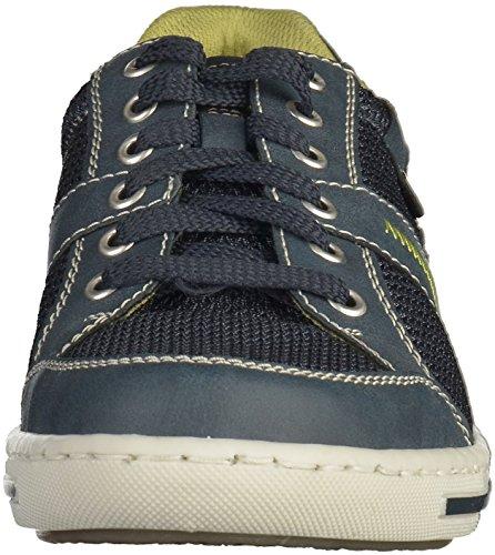 Rieker 19020 Herren Sneakers Blau