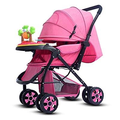 BabyCarriage El Cochecito ensanchado de Gran Altura, Puede Sentarse y Plegar el Cochecito, el Cochecito de bebé Universal de Cuatro Estaciones