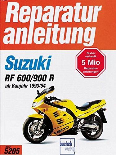 Suzuki RF 600 R/ RF 900 R (ab Baujahr 1993/94) (Reparaturanleitungen)