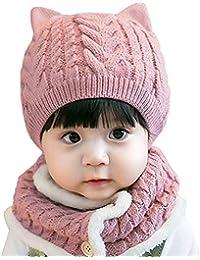 Amazon.es  gorro lana bebe - Niña  Ropa c738cacd1d1