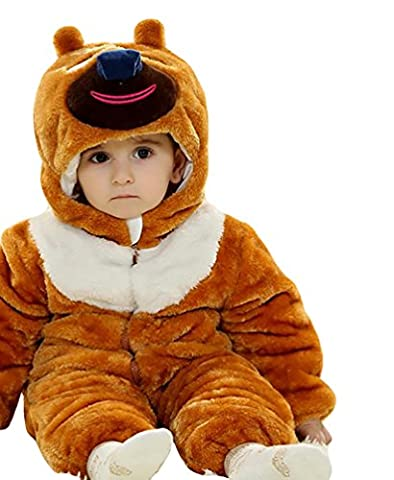 Costumes Ours Outfit - MissFox Unisexe Bébé Mignon Épaissir Grenouillère Animal