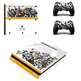 Playstation 4 Slim + 2 Controller Aufkleber Schutzfolien Set - Overwatch (1) /PS4 S