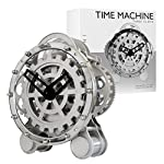 Invotis Modern Times Mantel Gear Clock (H28cm x W27cm x D12.5cm)