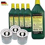 5L Bio-Ethanol Farmlight 3 Dose Behälter Gelkamin Kamin