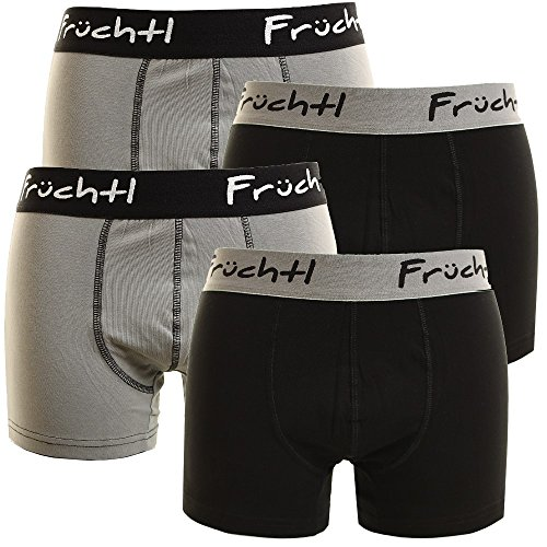 Früchtl Herren Boxershorts 4er Pack Mix1