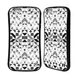 Head Case Designs Offizielle Vasare NAR Geometrisch Grau Muster 3 Hybrid Hülle für iPhone 6 Plus/iPhone 6s Plus
