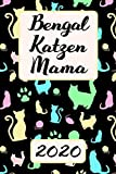 Bengalkatzen MAMA 2020: Kalender Bengal Katzen Terminplaner Planer | Frauchen Terminkalender Wochenplaner, Monatsplaner & Jahresplaner für ... Familie & Beruf | Geschenk für Katzenmama