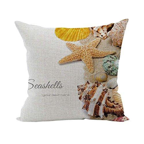 Dartys Pillowcase Pillow Cover Bird Housse de Coussin carrée en Coton et Lin 45 x 45 cm Coussins et accessoires