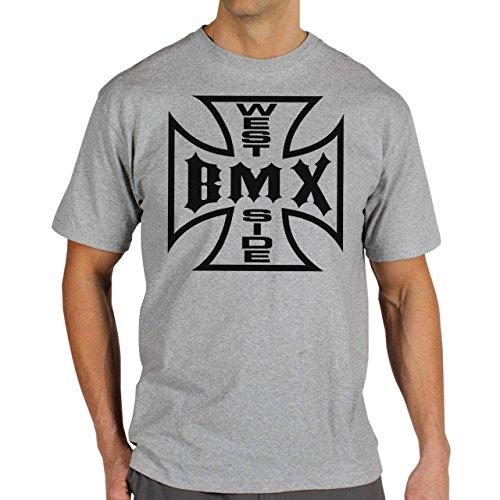 Bmx-Westside-Logo-Background.jpg Herren T-Shirt Grau
