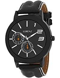 Lorenz MK-1022A Sporty Look Analog Watch - For Men