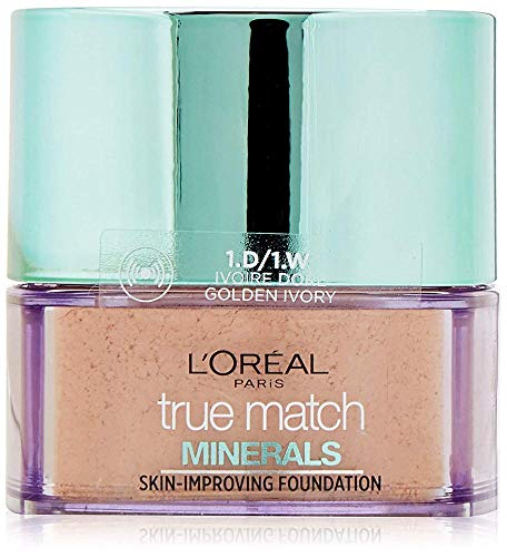 L'Oreal True Match Minerals Skin-Improving Foundation W1 Golden Ivory