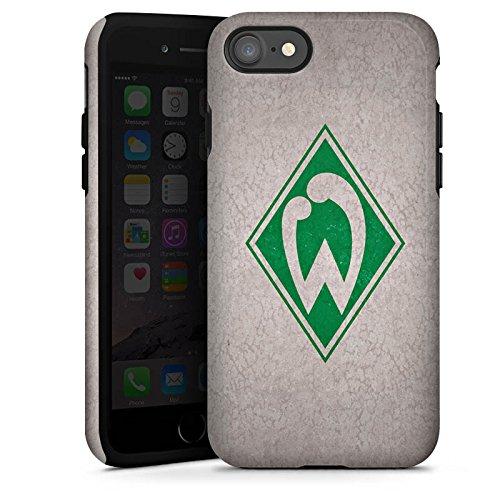 Apple iPhone 7 Hülle Case Handyhülle SV Werder Bremen Fanartikel Merchandise Fußball Tough Case glänzend