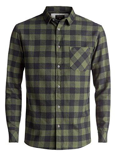 Quiksilver Motherfly Flannel - Long Sleeve Shirt - Langarm-Hemd - Männer (Quiksilver Herren Hemd)