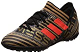 adidas Unisex-Kinder Nemeziz Messi Tango 17.3 TF Fußballschuhe, Schwarz (Core Black/Solar Red/Tactile Gold Metallic), 38 2/3 EU