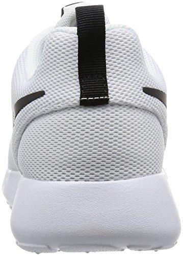 Nike Roshe One, Scarpe Running Donna Bianco (White/Black)