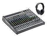 Mackie ProFX16v2 Set (16-Kanal Mischpult, inkl. Classic Cantabile Kopfhörer)