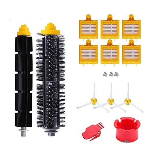 AplusTech Pack Kit Repuestos y Accesorios Filtro y Cepillo para Aspiradora iRobot Roomba Serie 700 720...