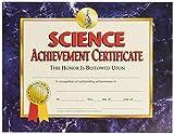Hayes School Publishing VA571Science Achievement certificate, 8–1/5,1x 27,9cm, misura 21,8cm, altezza 0,3cm, larghezza 28,2cm, lunghezza (confezione da 30)