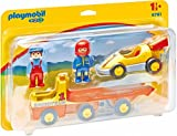 Playmobil Racing Car with Trailer Coche de Carreras con Camión, 18m+ 6761