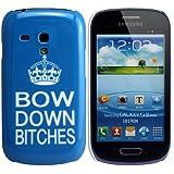 Samsung Galaxy S3Mini/I8190/I8200/nœud en duvet femelles Design Beyonce Coque rigide pour téléphone Coque de protection Coque Housse thematys®
