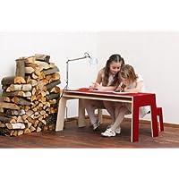 OSKARatWORK von perludi Tisch+Bank für Kinder preisvergleich bei kinderzimmerdekopreise.eu
