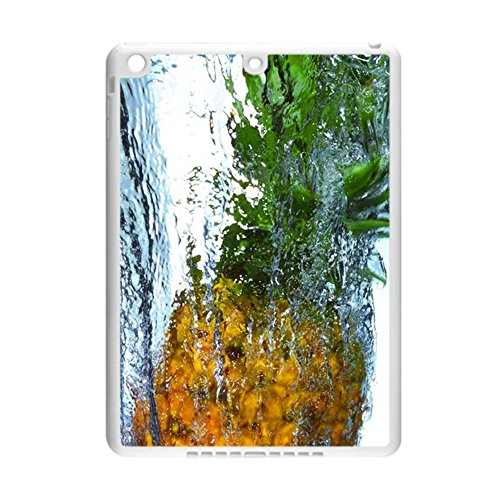 Print With Pineapple Children Protector Rigid Plastic Shell For Apple Ipad Air 1Stgen (Md785ll B)