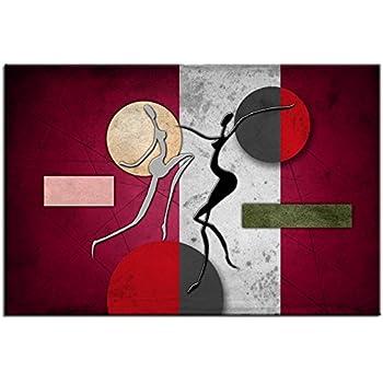 Tableau peinture design abstrait déco murale top vente 1a 1186hx2e r