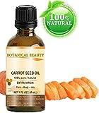 Zanahoria semillas aceite 100% puro/Natural/Sin Diluir/Prensado en Frío Sin refinar//Virgen Extra Aceite Portador. 1fl. oz-30ml. Piel, cuerpo y cabello cuidado. Por Botanical Beauty
