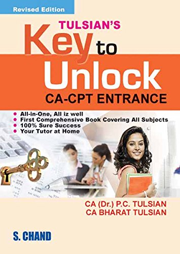 Key to Unlock CA-CPT Entrance (Combo with 9789383746552) (English Edition) D1-combo