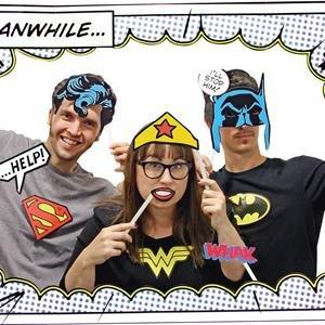 DC Comics Photo Booth Kit (Wonder Woman Kit Zubehör)