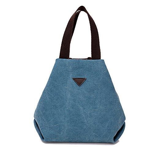 BYD - Donna Mini piccolo Borsa Handbag Tote bag Borsa a Spalla con 2 Tasche interne