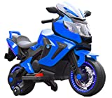 Toyhouse Valentina Racer Bike Rechargeable Battery Operated Ride-on for Kids,Blue