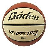 Baden Sports Baden Basketball Perfection balón de baloncesto Indoor Outdoor, color Marron et Crème, tamaño 5