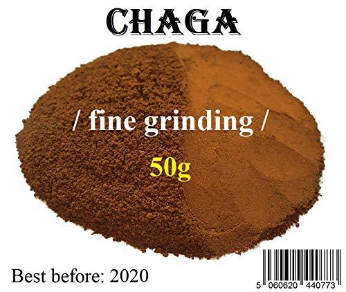 100% Chaga Pulver/Powder Mushroom 50g