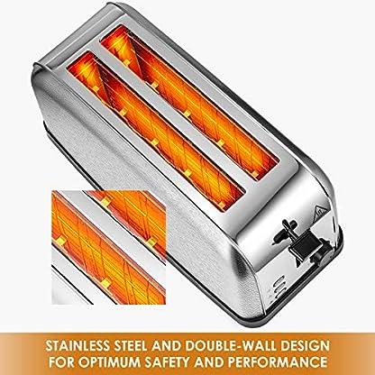 Kealive-Toaster-Edelstahl-Doppel-Langschlitz-Toaster-fr-4-Scheiben-Toast-mit-7-stufig-einstellbarer-Brunungsgrad-mit-Leicht-zu-reinigen-Krmelschublade-1500-Watt