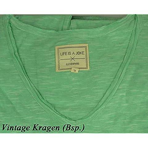 ELEVEN PARIS T-shirt da donna in vari colori - girocollo - LENNY KRAVITZ, ROBERT PATTINSON, DRAKE, KRISTEN STEWART (EPL-8-12)