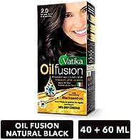 Dabur Vatika Natural Colouring Kit Black, 108 ml