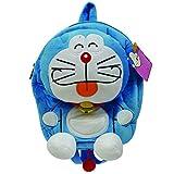 Doraemon Plush Bag Rainbow Series, Blue/White