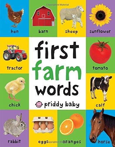 First Farm Words (First 100) por Roger Priddy