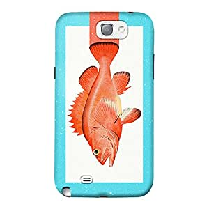 DailyObjects Orange Fish Mobile Case for Samsung Galaxy Note 2