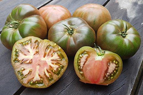 RWS 10 graines de tomate noire Krim, la tomate Heirloom russe de Crimée