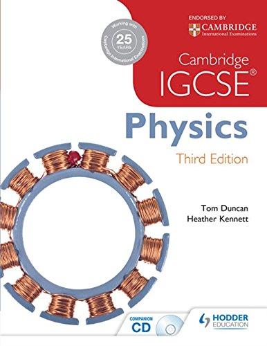 Cambridge IGCSE physics. Per le Scuole superiori. Con CD-ROM por Tom Duncan