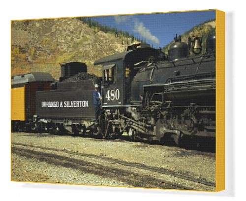 canvas-print-of-the-train-driver-and-engine-of-the-durango-and-silverton