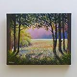 SUNSHINE AND SHADOWS - kleine Landschaftsmalerei.