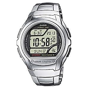 Casio Men's Digital Watch with Stainless Steel Bracelet WV-58DU-1AVES