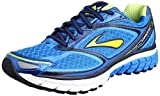 Brooks Ghost 7 Men Herren Laufschuhe, Blau (Electric Blue Lemonade/Lime Punch/Peacoat Navy), 42.5