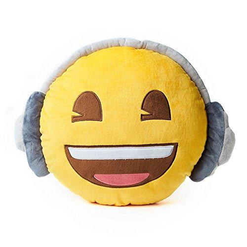 Emoji emojiâ cuffie marca–cuscino super morbido, super morbido cuscino. questo è un grande emoticon cuscino da emojiâ