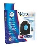 wpro CHF303 - Dunstabzugshaubenzubehör/ Aktivkohlefilter Typ 303 für Umluftbetrieb/ Passend für viele Modelle (u.a. IKEA, Whirlpool)