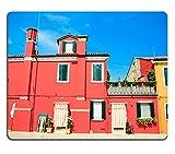 Die besten Liili Schreibtische - Mousepads bunt Venezianische Häuser auf Insel Burano Bild-ID Bewertungen
