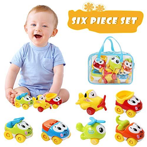 OKPOW Car Toys for Kids, Baby Pu...